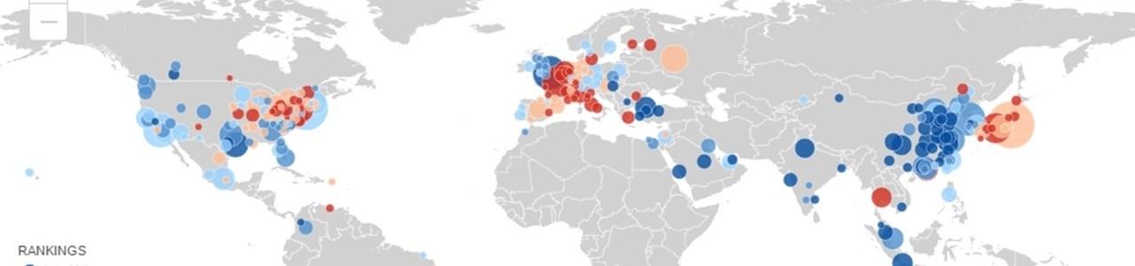 Global Metro Monitor Map