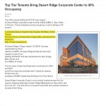 Top Tier Tenants Bring Desert Ridge Corporate Center to 95 Occupancy 9.2.15