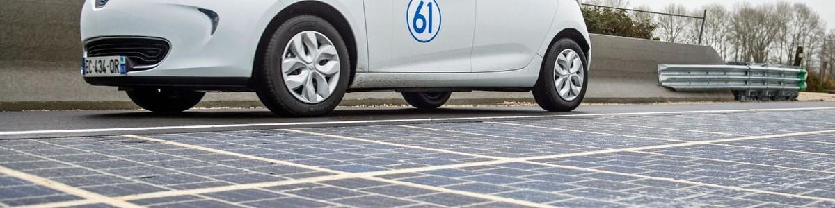 Solar Panel Road