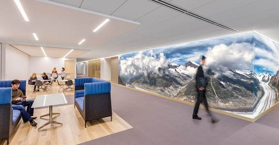 Creative offices amazing a creative office space for a for Most innovative office spaces